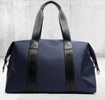 Business Style Leather & Microfibre Duffel Bag $89.10 Delivered @ Travellers Home via Catch