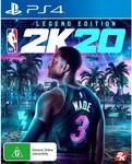 [Pre-Order] NBA 2K20 Legend Edition $118 Pickup /+ Delivery @ Harvey Norman Online