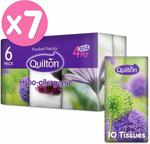 Quilton 4 Ply Hypo-Allergenic 10 Pocket Tissues 42 Pack $10.99 + Delivery ($0 with Prime/ $39 Spend) @ Amazon AU
