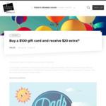 [WA] Buy a $100 (+ $1.50 Fee) Cockburn Gateway Gift Card and Receive Bonus $20 Gift Card @ Cockburn Gateway (Success)