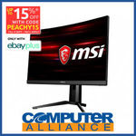 "[eBay Plus] MSI Optix MAG271CQR 27"" 1440p 144HZ VA Monitor $475.15 Delivered @ Computer Alliance eBay"