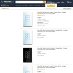 Ctec Smart Light Switches (Siri Compatible) Buy One 10%, Buy Two 15%, Buy Three 20% Free Delivery @ Ctec via Amazon AU
