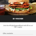 Free $5 Voucher @ Oporto (Flame Rewards Members)