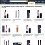 35% off Dior Beauty Including Cosmetics, Skin Care & Fragrance @ Amazon AU