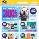20% off Storewide + Free Delivery over $49 @ My Pet Warehouse