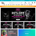 20% off Sitewide (Excludes Pet Flea, Tick & Worming & Prescription Foods) @ Pet House