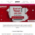 19% off All Orders + Free Shipping over $59 @ Quirksy