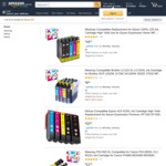 10% off All Compatible Ink Cartridges + Delivery (Free with Prime/ $39 Spend) @ Hehua-AU Amazon