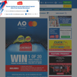 Win 1 of 20 Family Passes Valued at $280 to the Australian Open from Chemist Warehouse [VIC]