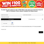 Win a Share of Over 6,000 $100 EFTPOS Gift Cards & Other Prizes from San Remo [With Purchase]