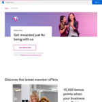 Free 10,000 Telstra Plus Bonus Points - Small Business Customers Only