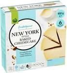 Woolworths New York Style Baked Cheesecake 450g or Lemon Tart $3 @ Woolworths