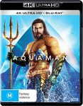 Aquaman (4K Ultra HD + Blu-Ray) $12.50 + Shipping ($0 with Prime or $39 Spend) @ Amazon AU