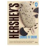 ½ Price Hershey's or Reese's Tub 473ml, Sticks or Cones 4 Pack $4.25, Peters Drumstick 4/6 Pack $4.20 @ Coles