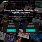 Free 1 Month Access (No CC Required) @ BroadwayHD