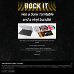 Win a Sony LX-310 Turntable & Vinyl Bundle Worth $474.96 from Sony Music