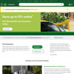Woolworths Car Insurance 10% off and $100 Gift Card