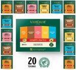 40% off Premium Chai Tea Samplers: 5 Chai Tea Sampler (20 Tea Bags) $8.40 + Delivery ($0 w/Prime / $39+) @ Vahdam Teas Amazon AU