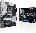 Asus Prime Z490-A Motherboard (Intel LGA1200), $360 + $22 Delivery ($0 shipping with Prime) @ Amazon US via AU