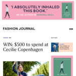 Win a Cecilie Copenhagen Wardrobe Worth $500 from Fashion Journal