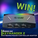 Win an IOGEAR KeyMander 2 Keyboard Mouse Adapter Plus Controller Worth $179 from PC Case Gear