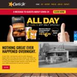 [QLD, NSW, VIC, SA] Western Bacon Cheeseburger Combo $6.95 @ Carl's Jr (via My Carl's App)