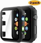 15% off Apple Watch Case 2 Pack Tempered Glass Protector $8.49 (Was $9.99) + Delivery ($0 with Prime/$39 Spend) @ Seyarlh Amazon
