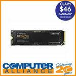 [eBay Plus] Samsung 970 EVO Plus - 1TB $251.10 ($205.10 after CB), 500GB $132.30 ($109.30 after CB) @ Computer Alliance eBay