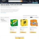 [Prime] Fanta Orange (Backorder), Lift Lemon 375ml 24pk $11 Delivered ($9.35 with S&S Fanta Only) @ Amazon AU