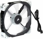 [Prime] Corsair ML140 Pro LED Magnetic Levitation Cooling Fan - White $33.94 Delivered @ Amazon UK from AU