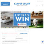 Win a Pet-Friendly Flooring Package Worth $20,000 from Carpet Court/realestate.com.au Pty Ltd