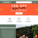 Black Friday 10% off Sitewide + Free Shipping (over $30) @ Hoselink