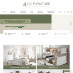 [NSW, VIC] Up to 50% off RRP Storewide + Free Shipping (over $1000 Spend) @ B2C Furniture