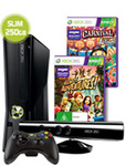 Xbox 360 250GB Console + Kinect + 2 Games ($298 after Cash Back)