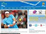 Tennis: 2012 Apia International Sydney 2 for 1 Ticket Offer for Medibank Members