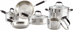 Anolon Tri-Ply Onyx 10 Piece Cookware Set $254.96 Delivered @ Cookware Brands