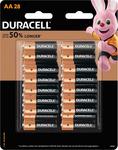 Duracell AA and AAA 28 Packs $15 @ Bunnings Warehouse