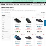 Crocs - Selected Styles 2 Pairs $54.99 Delivered @ Crocs Australia