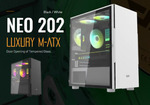 DarkFlash Neo202 Micro ATX Case Black/White $60 Delivered (+ $75 for MSI B450M-A PRO Max Bundle) @ Darkflashaus eBay