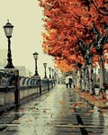 Paint by Numbers Kit-Autumn $19.19 (Was $23.99) + Delivery ($0 with Prime/ $39 Spend) @ Golden Maple Amazon AU