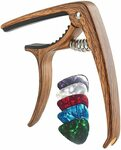 TERSELY Guitar Capo + 5 Picks $9.3 + Delivery ($0 with Prime/ $39 Spend) @ Statco via Amazon