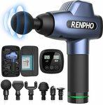 RENPHO C3 Deep Tissue Massage Gun $99.99 Delivered ($50 off) @ AC Green Amazon AU