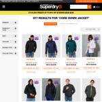 Core Down Jacket $99.00 Delivered @ Super Dry