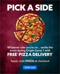 Free Delivery on All Pizza & Italian Restaurant Orders ($15 Minimum Spend) @ Menulog