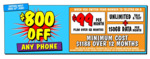 $800 off Any Phone on Telstra $99/Month 12 Months Plan (Min Cost $1188, Port-in Customers) @ JB Hi-Fi in-Store