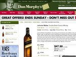 Johnnie Walker Double Black Scotch Whisky Only $47.90 Per Bottle!