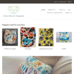 Cloth Nappy $19.50 (Was $30) + Delivery ($0 with $50 Spend) @ Only About Nappies