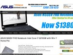 Asus N53SV-S1746V Full HD Intel Core i7 Notebook $1380 @ AsusNotebook.com.au