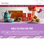 Win 1 of 100 T2 Tea Packs Worth $158 from Bakers Delight