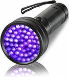 35% off UV Torch Black Light Flashlight Detector for Dog Urine $14.87 + Delivery ($0 with Prime/ $39 Spend) @ Eocean-au via Amaz